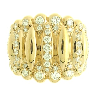 Azaro 18k Rose Gold 1 1/4ct TDW Diamond Fashion Band (G-H, SI1-SI2)
