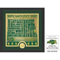 "North Dakota State University ""State"" Bronze Coin Photo Mint"