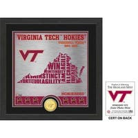 "Virginia Tech University ""State"" Bronze Coin Photo Mint"