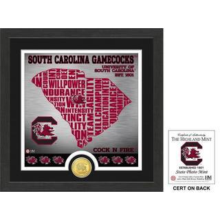 "University of South Carolina ""State"" Bronze Coin Photo Mint"