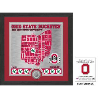 "Ohio State University ""State"" Minted Coin Photo Mint"