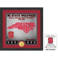 "North Carolina State University ""State"" Bronze Coin Photo Mint"