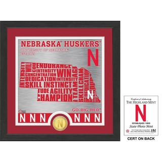 "University of Nebraska ""State"" Bronze Coin Photo Mint"