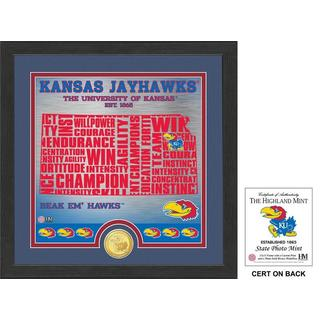 "University of Kansas ""State"" Bronze Coin Photo Mint"