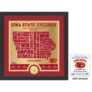 "Iowa State University ""State"" Bronze Coin Photo Mint"