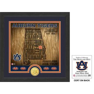 "Auburn University ""State"" Bronze Coin Photo Mint"