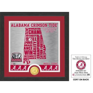 "University of Alabama ""State"" Bronze Coin Photo Mint"