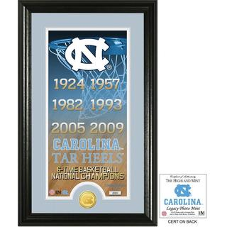 "University of North Carolina Basketball ""Legacy"" Bronze Coin Photo Mint"