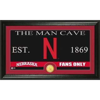 "University of Nebraska ""Man Cave"" Panoramic Bronze Coin Photo Mint"