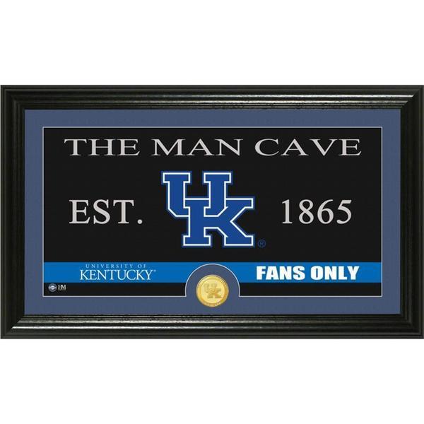 "University of Kentucky ""Man Cave"" Panoramic Bronze Coin Photo Mint"
