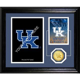"""University of Kentucky Basketball """"Fan Memories"""" Bronze Coin Desktop Photo Mint"""