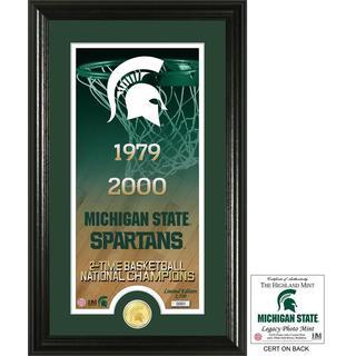 "Michigan State University Basketball ""Legacy"" Bronze Coin Photo Mint"