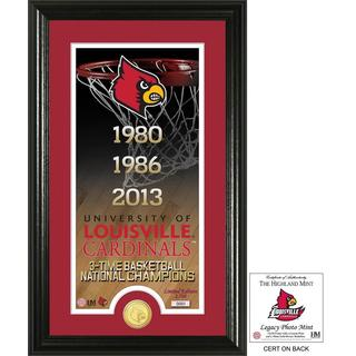 "University of Louisville Basketball ""Legacy"" Bronze Coin Photo Mint"