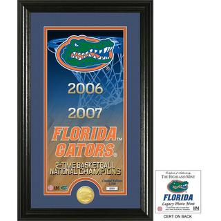"University of Florida Basketball ""Legacy"" Bronze Coin Photo Mint"