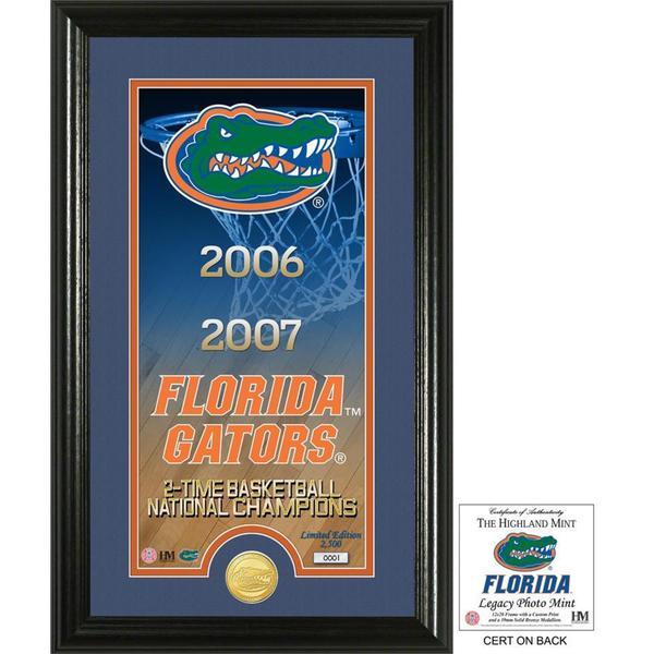 "University of Florida Basketball ""Legacy"" Bronze Coin Photo Mint"
