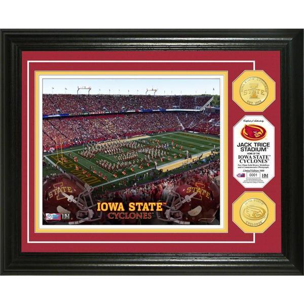 Iowa State University Stadium  Bronze Coin Photo Mint