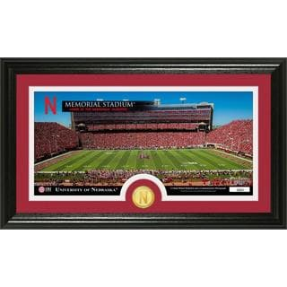 "University of Nebraska ""Stadium"" Panoramic Bronze Coin Photo Mint"