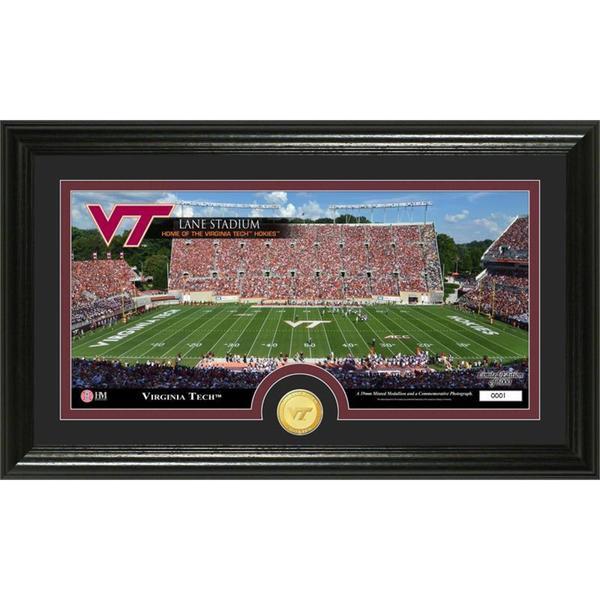 "Virginia Tech ""Stadium"" Bronze Coin Panoramic Photo Mint"