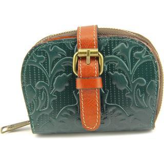Patricia Nash Women's 'Zurich' Green Leather Wallet