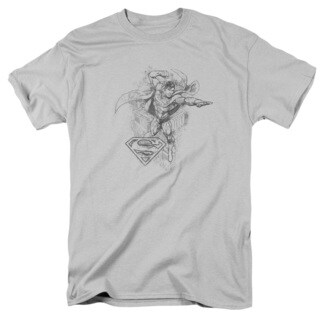 DC/Flying Flex Short Sleeve Adult T-Shirt 18/1 in Silver