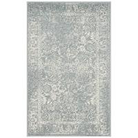 Safavieh Adirondack Vintage Distressed Slate Grey/ Ivory Rug - 2' x 4'