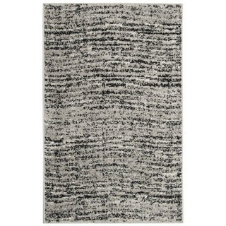 Safavieh Adirondack Modern Black/ Silver Rug (2' x 4')