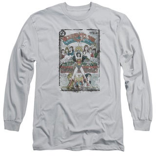 DC/Vol 1 Cover Long Sleeve Adult T-Shirt 18/1 in Silver
