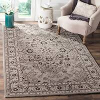 Safavieh Handmade Antiquity Grey / Beige Wool Rug - 2' x 3'