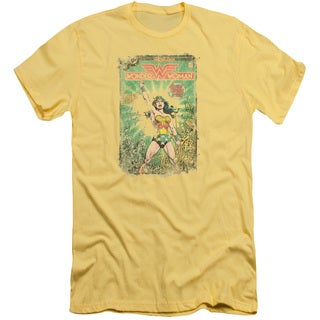 DC/Besieged Cover Short Sleeve Adult T-Shirt 30/1 in Banana