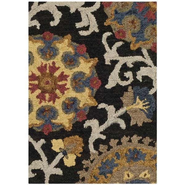 Shop Safavieh Handmade Blossom Charcoal Multicolored