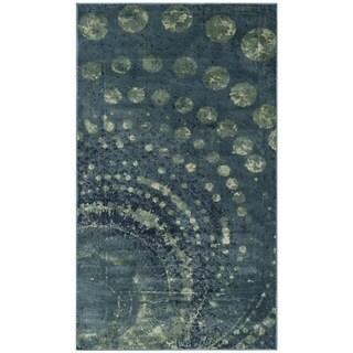 Safavieh Constellation Vintage Modern Turquoise / Multicolored Viscose Rug (2' x 3')