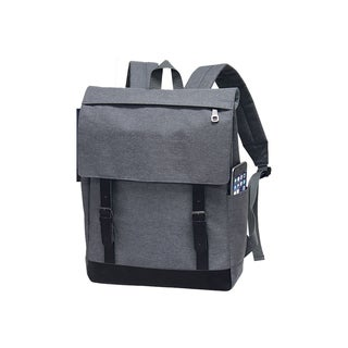 Preferred Nation Grey Polyester Soho Backpack