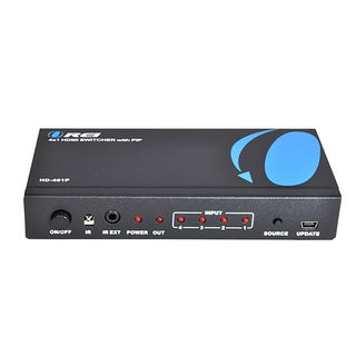 OREI HD-401p 4 x 1 High Speed HDMI Switcher With IR Remote