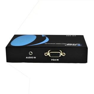 Orei VGA to HDMI Converter with Audio Jack