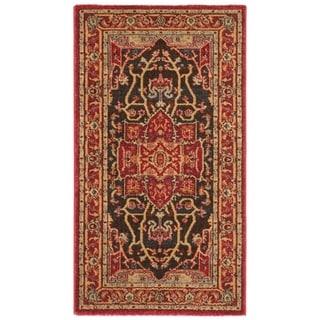 Safavieh Mahal Traditional Grandeur Red/ Red Runner Rug (2' x 4')