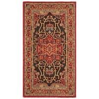 Safavieh Mahal Traditional Grandeur Red/ Red Runner Rug - 2' x 4'