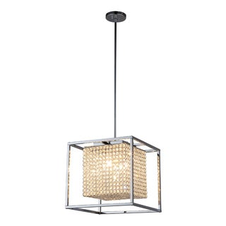 OVE Decors Portofino Iron LED Integrated Pendant