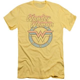 DCO/Faded Wonder Short Sleeve Adult T-Shirt 30/1 in Banana