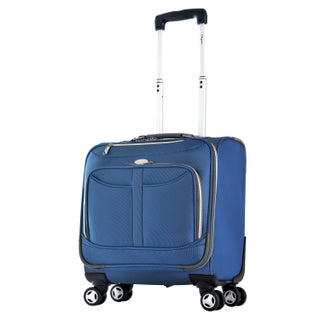 Olympia Tuscany Overnight Spinner Tote Bag (Option: Blue)