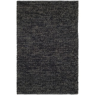 Safavieh Martha Stewart Winding Braid Ebony Jute / Cotton Rug (2' x 3')