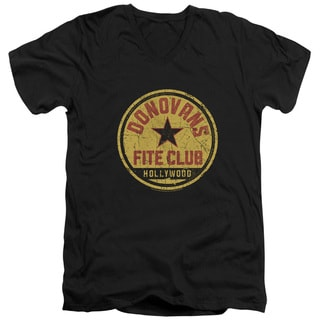 Ray Donovan/Fite Club Short Sleeve Adult T-Shirt V-Neck 30/1 in Black