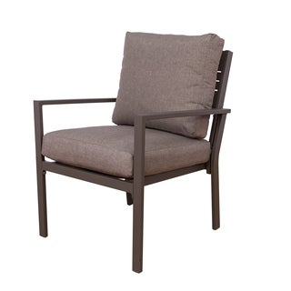 Somette Aluminum Single Seat Chair (Set of 2)