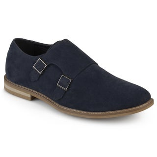 Vance Co. Men's 'Isaac' Faux Leather Double Monk Strap Shoes (More options available)
