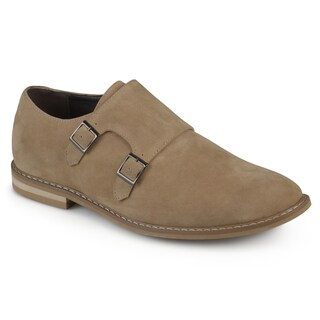 Vance Co. Men's 'Isaac' Faux Leather Double Monk Strap Shoes