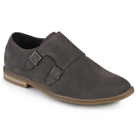 43e6c081 Grey, Monk Strap Men's Shoes | Find Great Shoes Deals Shopping at ...