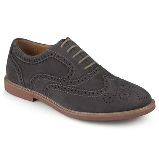 Vance Co. Men's 'Lantz' Faux Suede Lace-up Oxford Dress Shoes