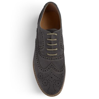 Vance Co. Men's 'Lantz' Faux Suede Lace-up Oxford Dress Shoes