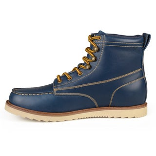 Blue Men's Boots - Overstock.com Shopping - Footwear To Fit Any Season