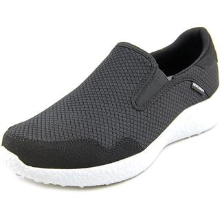 Skechers Men's Burst - Just in Time Black Mesh Athletic Shoes