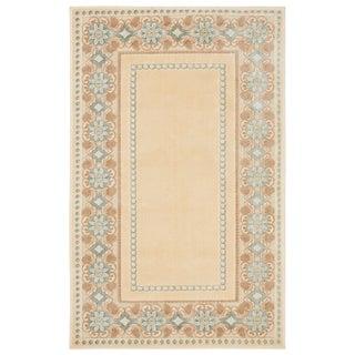 Martha Stewart by Safavieh Taj Mahal Cream Viscose Rug - 2' x 4'